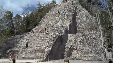 coba pyramid mexico my pictures from mexico 2014 pinterest coba ruins mexico youtube
