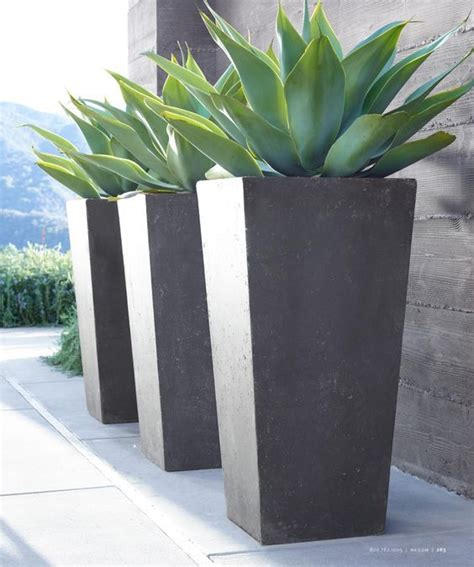 modern plant pots the 25 best front door planters ideas on pinterest