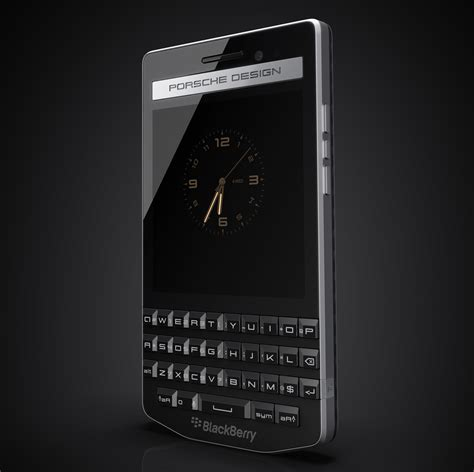 Blackberry Porsche Design by Q And A Creating The Timeless Minimalism Of The Porsche