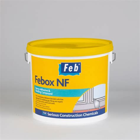 bedding compound febox nf epoxy adhesive bedding compound pale grey