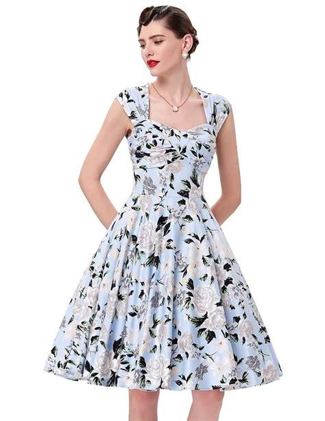 emily swing emily floral swing dress 1950sglam