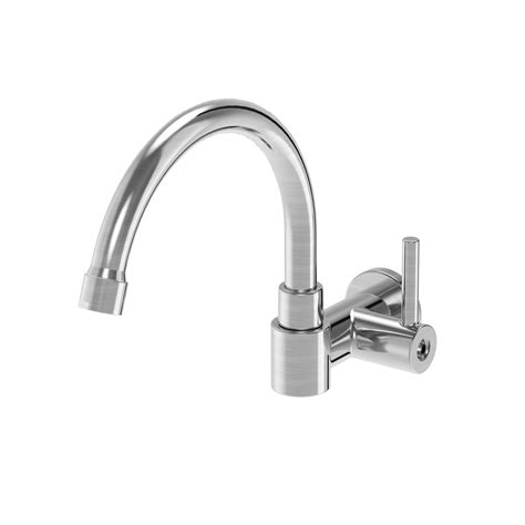 Wall Mount Single Handle Kitchen Faucet Parmir Ssk 110 Single Handle Wall Mounted Pot Filler Faucet