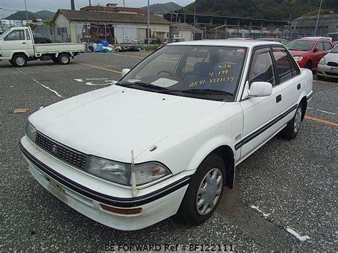 Beforward Toyota Corolla Used 1990 Toyota Corolla Sedan E Ae91 For Sale Bf122111