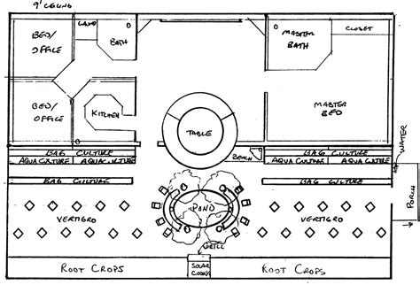Greenhouse Floor Plan by Greenhouse Prototype