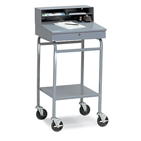 Mobile Shop Desk win holt enclosed mobile shop desk 24x19x44 shop desks
