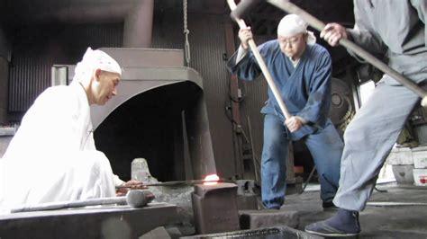 traditional katana forging japan s most katana forging artisan kobayashi
