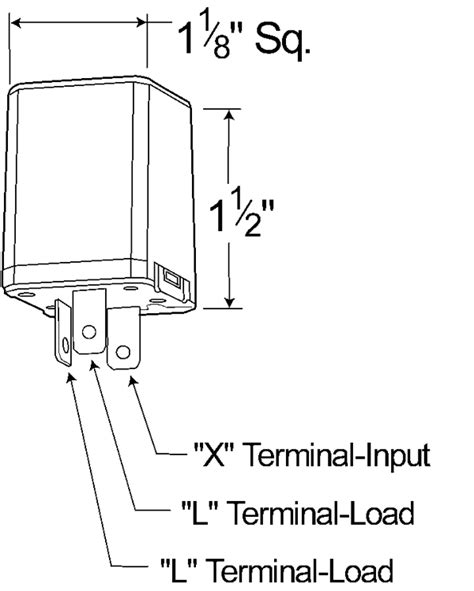 pin flasher  light heavy duty alternating electronic