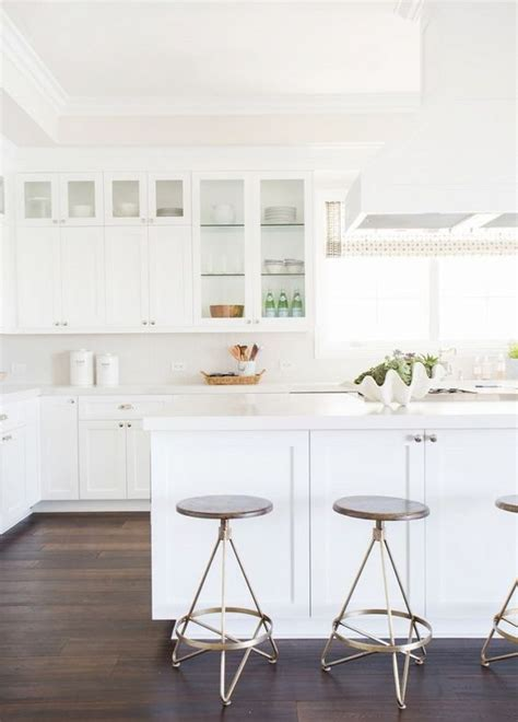 Simple White Kitchen Image Of Simple White Paint For Simple White Kitchen Cabinets
