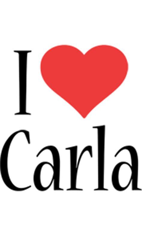 carla logo  logo generator  love love heart