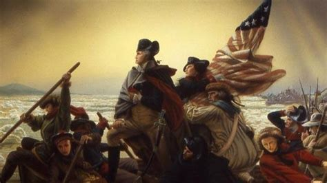 george washington on boat the american revolution by tales of curiosity