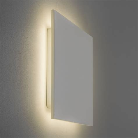 plaster eclipse wall lights led