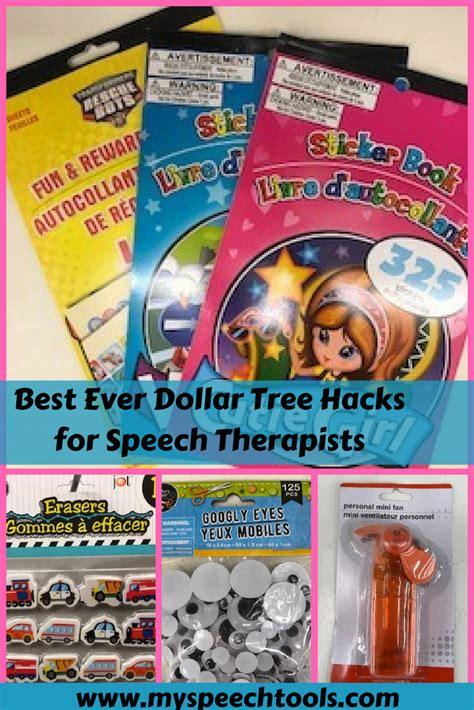 dollar tree hacks my speech tools
