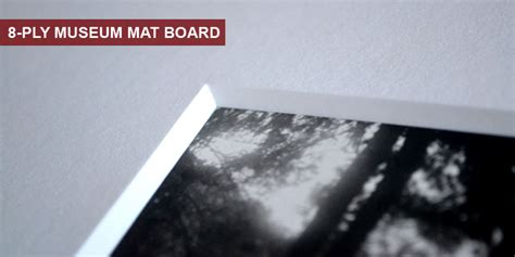 8 Ply Mat Board by Mat Fillets