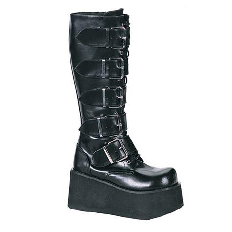 mens demonia boots demonia trashville 518 mens platform knee boots