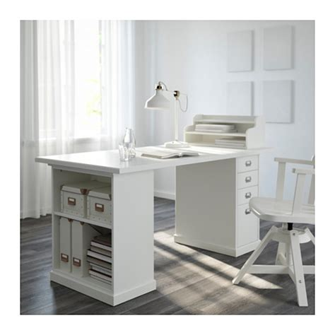 lada scrivania ikea klimpen table leg with storage white ikea this would be