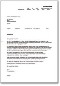 Mahnung Muster Arbeitnehmer Abmahnung Eines Auszubildenden De Musterbrief