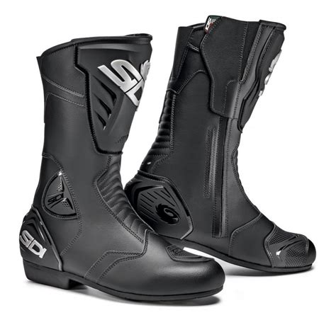cheap motorcycle riding boots 177 70 sidi mens black rain riding boots 998307