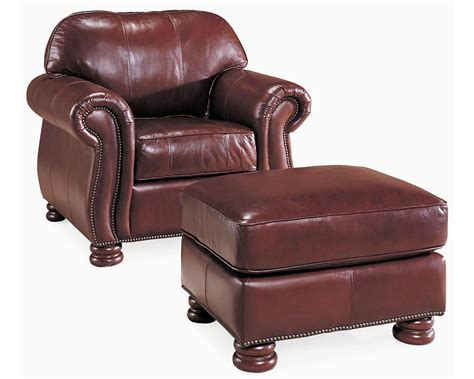 thomasville chair and ottoman benjamin chair leather thomasville furniture