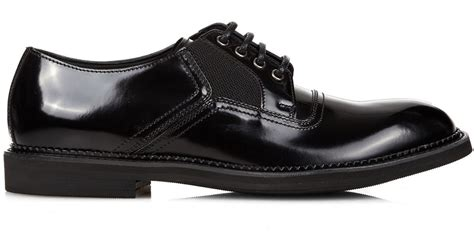 Wedges Shoes Cortina 1 dolce gabbana cortina leather derby shoes in black for