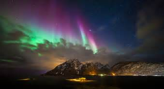 Norway Lights From Another World Sund Lofoten Norway Sund Lofoten
