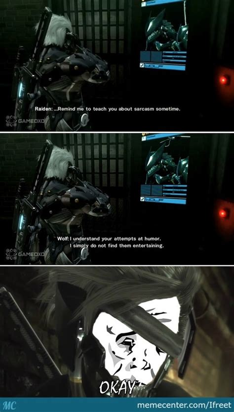 Metal Gear Rising Memes - metal gear rising revengeance memes best collection of