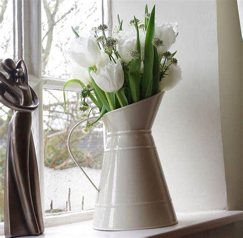 wedding flower jugs metal jug by the wedding of my dreams notonthehighstreet