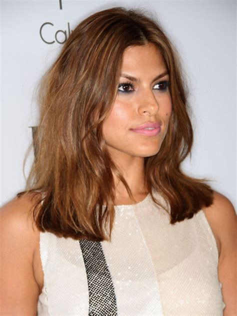 beautiful hairstyles worn  eva mendes   years