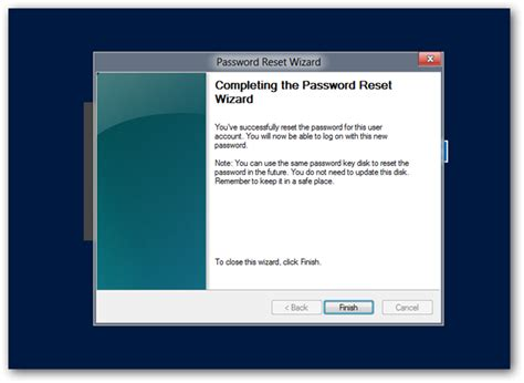 windows vista password reset usb key how to create and use a password reset disk or usb in