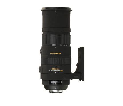 Lensa Sigma sigma lens 150 500mm f5 6 3 apo dg os hsm for canon produk lens slr lens sigma sinar photo