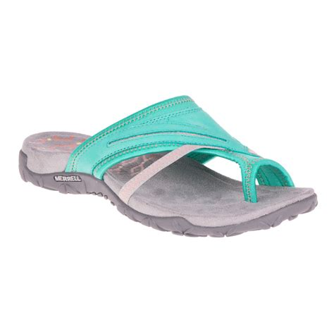 green womens sandals merrell terran post ii womens green walking summer shoes