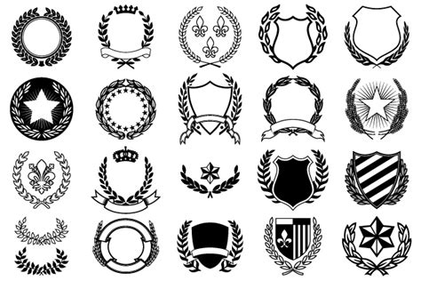 Emblem Fino By Muray Shop crests objects on creative market