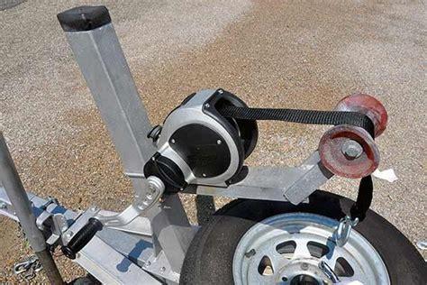 jet boat trailer winch replacing a boat trailer winch trailering boatus magazine