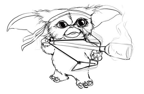 1280px Gremlins Coloring Pages