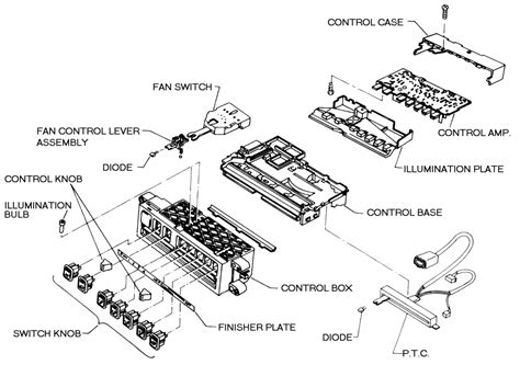 how to remove a heater control on a 1985 lincoln continental how to remove heater control on nissan