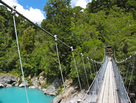swing bridge nz hokitika gorge d1 nz frenzy south island new zealand