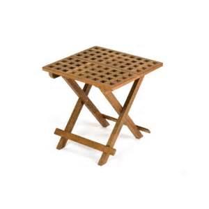 Fold Away Coffee Table Whitecap Teak Grate Top Fold Away Table Walmart