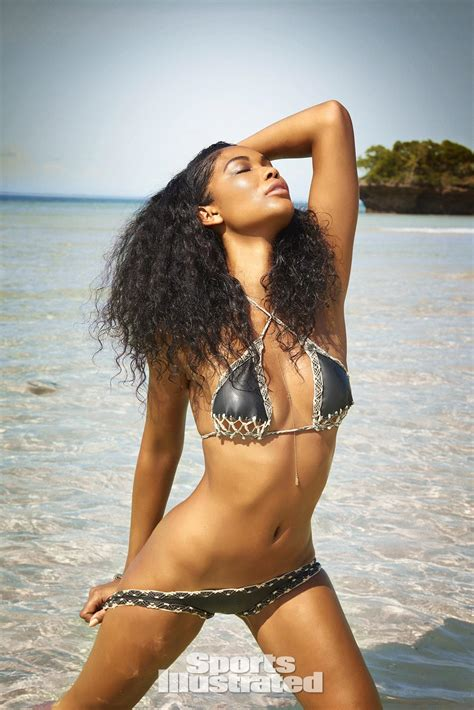 chanel iman gallery chanel iman swimsuit photos sports illustrated swimsuit 2016