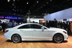 los angeles 2016 mercedes cls63 amg s 4matic will