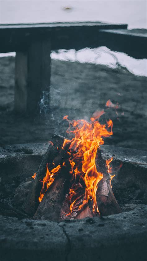 campfire wallpaper  iphone