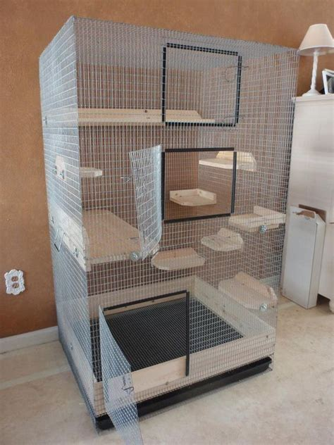 Handmade Cage - 25 best ideas about chinchilla cage on ferret