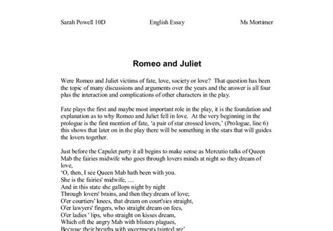 essay structure romeo and juliet practical advices on writing law essays buy essays romeo