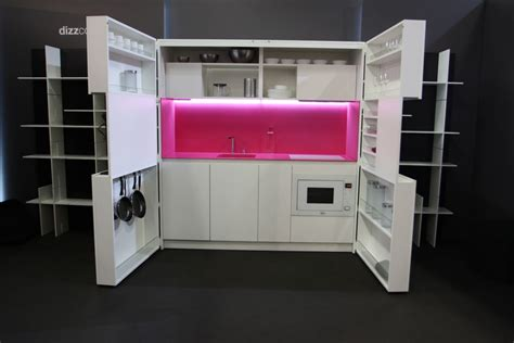 compact kitchens for small spaces pia the revolutionary kitchen that offers luxury in a