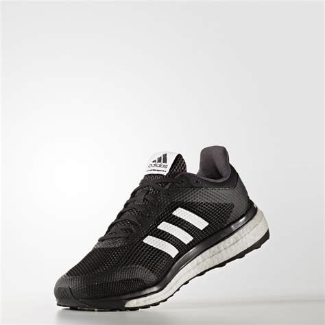 mens black sports shoes adidas response mens black cushioned running sports shoes
