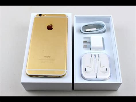 Chasing Iphone 6 Model Iphone 7 Gold iphone 6 plus unboxing 128gig gold edition