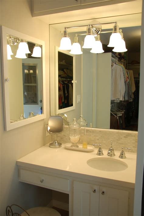 bathroom with makeup vanity bathroom makeup vanity ideas with station brilliant vanities including candle within