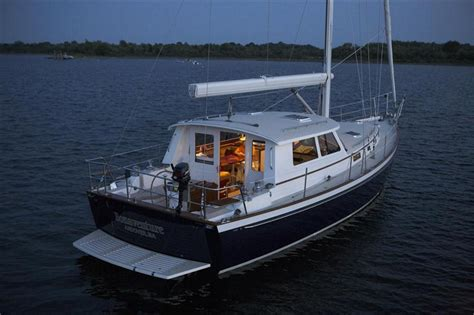 catamaran builders washington state 50 bruckmann mk ii cruising sailboat new build