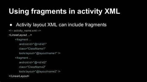 layout xml fragment 02 programmation mobile android activity view fragment