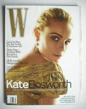Kate In Magazine I Am A Bit Wacky by W Magazine Back Issues Us American Usa Fashion Magazines
