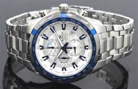 Casio Edifice Ef 539d 7a2v casio edifice s white chronograph stainless steel