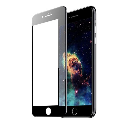 Tempered Glass Nero tempered glass 5d iphone 7 nero gt per cellulare